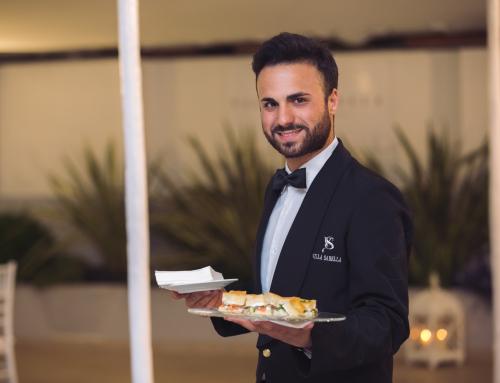 Il matrimonio a Villa Sabella: il cocktail di benvenuto