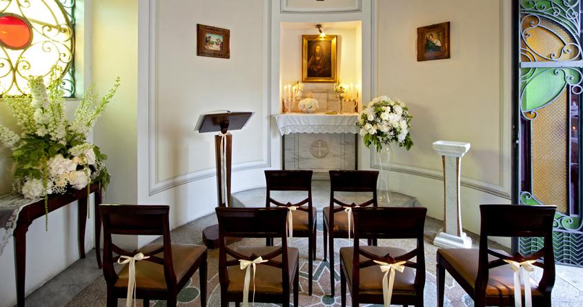 Gli usi della cappella di Villa Sabella oltre il matrimonio