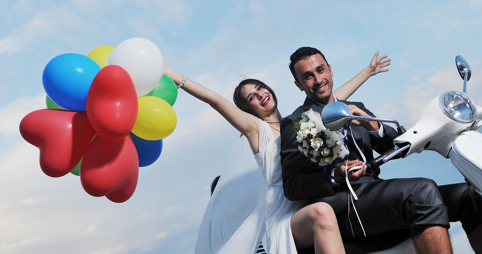 matrimonio divertente a Villa Sabella